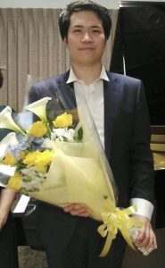 今泉 響平さんのピアノコンサート